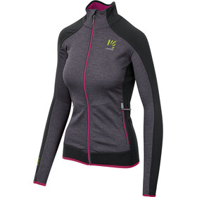 Karpos Odle Fleece Jacket Women, dark grey